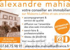 Alexandre Mahia Conseiller en immobilier