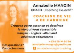 Annabelle Mangin, Coach