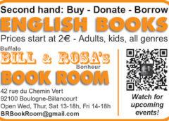 Bill & Rosa's Book Room